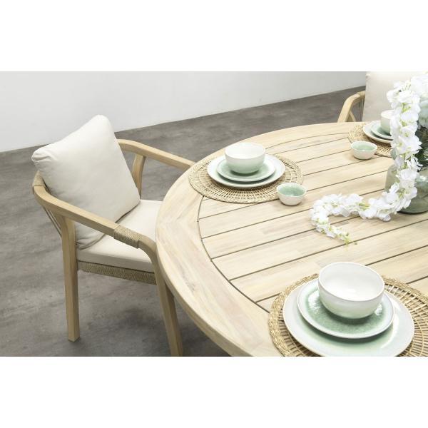 Garden Impressions Stuhl »Santos« mit Tisch »Tigre/Kent«