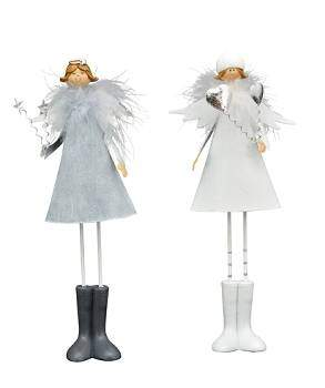 Exner »Angel Lilian« 31cm white gray