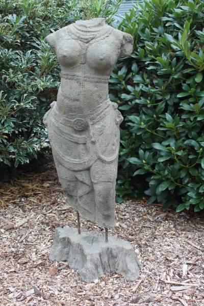 Lesli Living Figure de pierre danseuse orientale