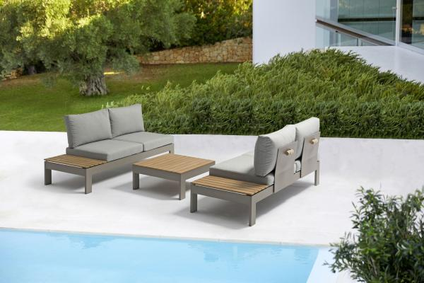 COUTURE Jardin »Amaze« Alu Sofa Set