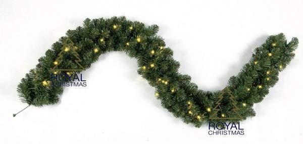 Royal Christmas Dakota Girlande GS 540cm mit LED Beleuchtung