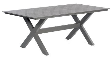 Table de jardin en aluminium Topas anthracite