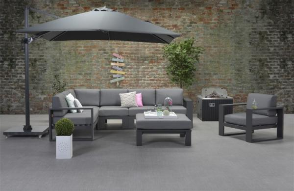 Garden Impressions »Cube« Lounge-Dining Gruppe 2 Farben