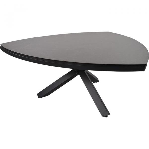 Lesli Living Tisch »Mojito Ceramic Negro« dreieck 170x170cm