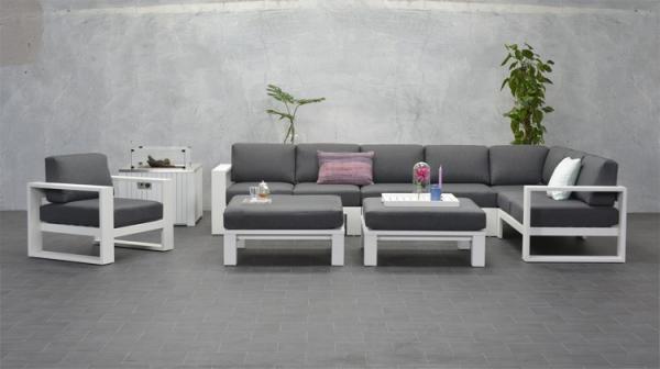 Garden Impressions »Cube« Lounge-Eckgruppe Gruppe 2 Farben