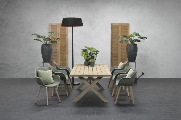 Garden Impressions Stuhl »Pontone« mit Tisch »La Plata«