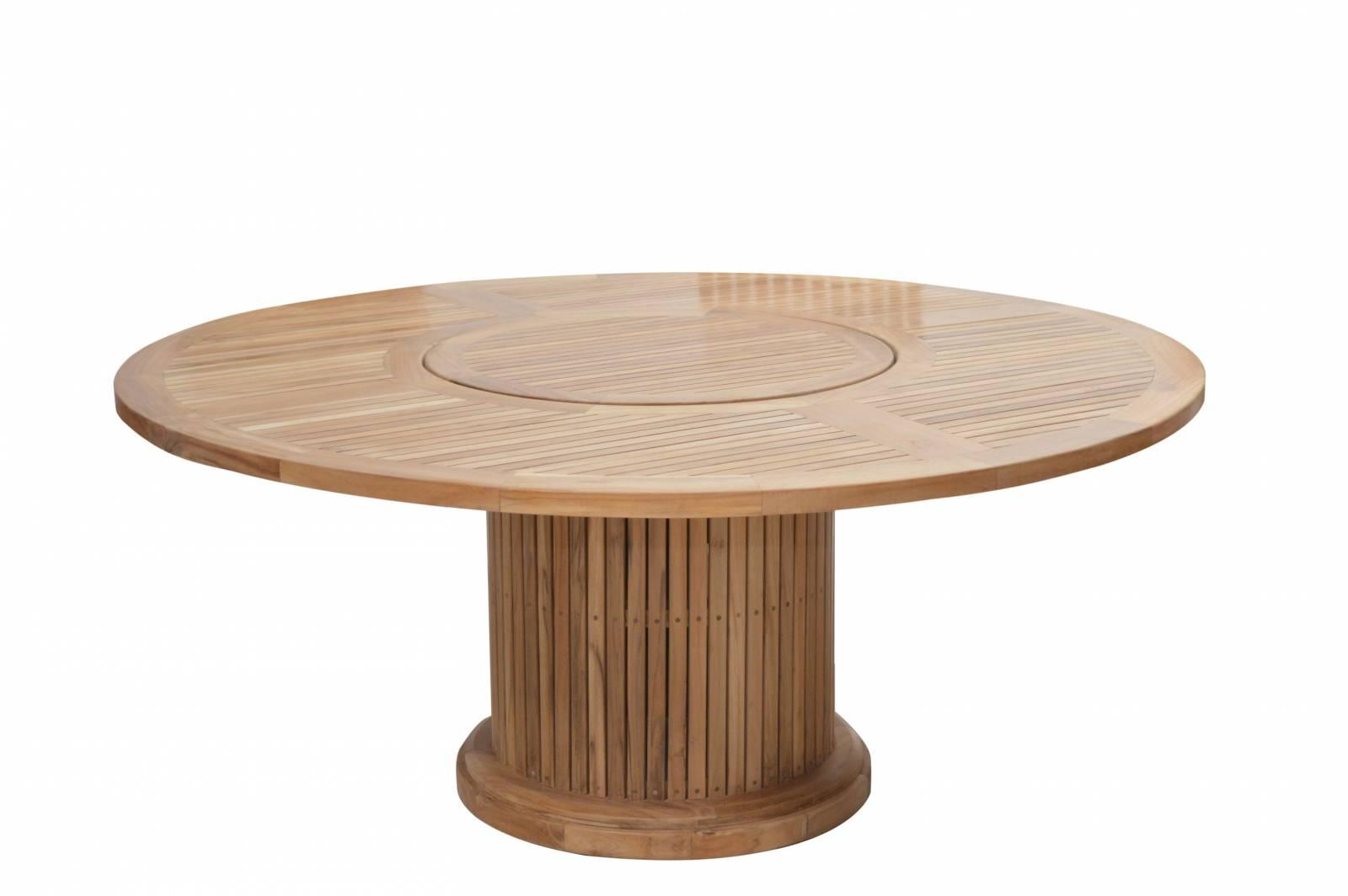 Ploß Teak-Tisch PHOENIX rund Ø 160 cm günstig online kaufen
