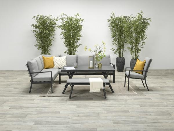 Garden Impressions »Sergio« Lounge-Dining Gruppe