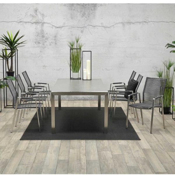 Garden Impressions Stuhl »Geneve« mit Tisch »Montreaux«