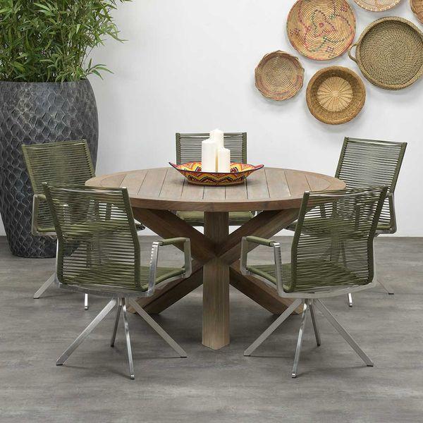Garden Impressions Stuhl »Como« mit Tisch »Venezuela«