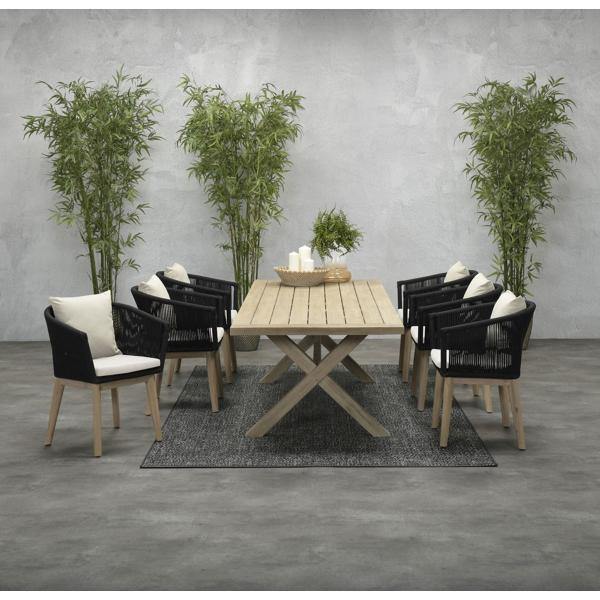 Garden Impressions Stuhl »Arola« mit Tisch »La Plata«