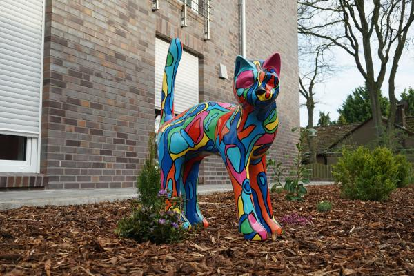 "Animal sculpture cat ""Molly"""