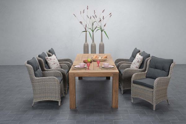 Garden Impressions Stuhl »Malpensa« mit Tisch »Mexico«
