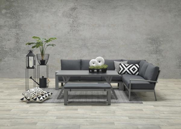 Garden Impressions »Rondo« Loungegruppe 6-Tlg. 2 Farben