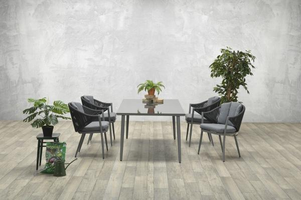 Garden Impressions Stuhl »Monica« mit Tisch »Indiana«