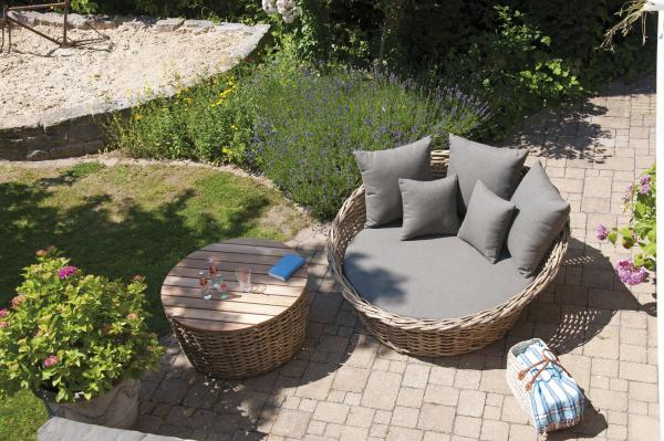 SonnenPartner »Sands« Lounge Bett & Tisch