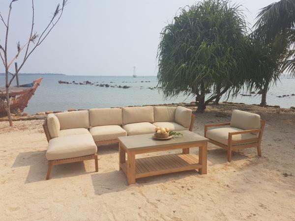 Vaganza »San Marco« Teakholz Lounge
