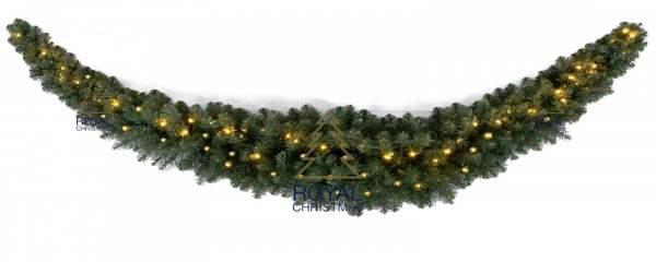 Royal Christmas Dakota Swag 270cm mit LED Beleuchtung