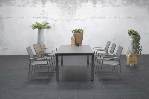 Garden Impressions Stuhl »Andermatt« mit Tisch »Montreaux«
