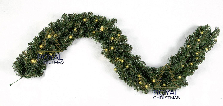 royal christmas dakota girlande gs 540cm mit led beleuchtung kaufen. Black Bedroom Furniture Sets. Home Design Ideas