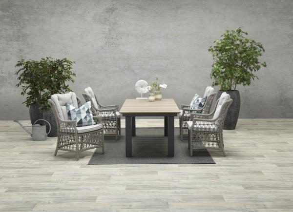 Garden Impressions Stuhl »Excellence« mit Tisch »Parkland«