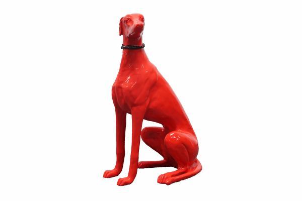 Tierskulptur Windhund »Mike«