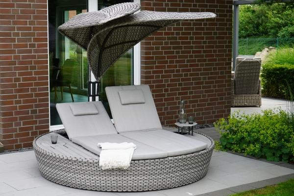 Ploß Design-Daybed »LOUVRA« steel