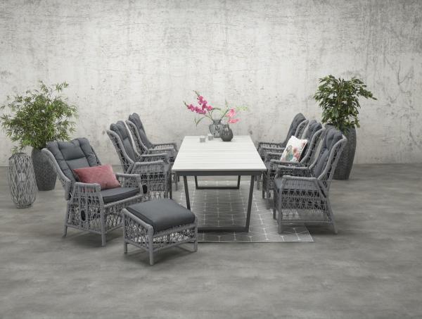 Garden Impressions Stuhl »Excellence« verstellbar mit Tisch »Highland«
