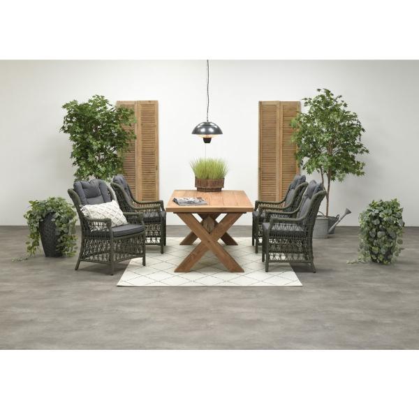 Garden Impressions Stuhl »Excellence« mit Tisch »Colombia«