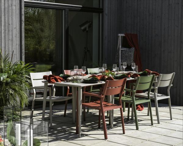 Brafab Stuhl »Delia« mit Tisch »Nimes«
