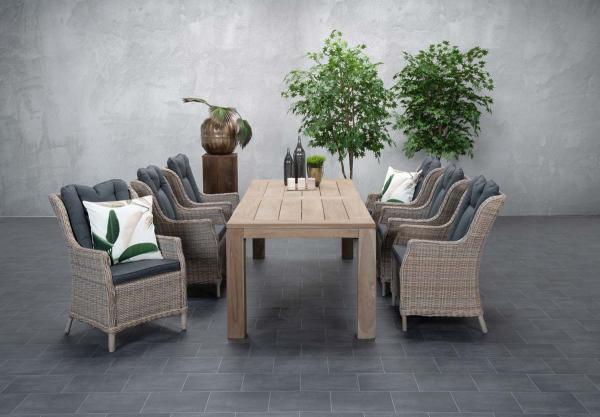 Garden Impressions Stuhl »Osborne« mit Tisch »Mexico«