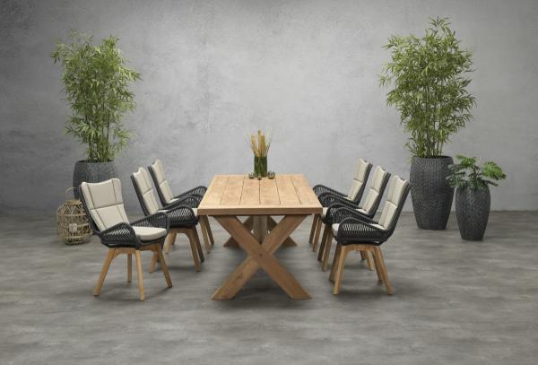 Garden Impressions Stuhl »Florence« mit Tisch »Colombia«