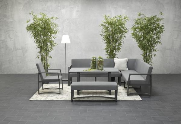Garden Impressions »Aureum« Lounge-Dining Gruppe 2 Farben