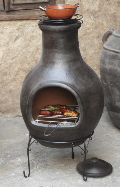 Forno da terrazza messicano / forno azteco