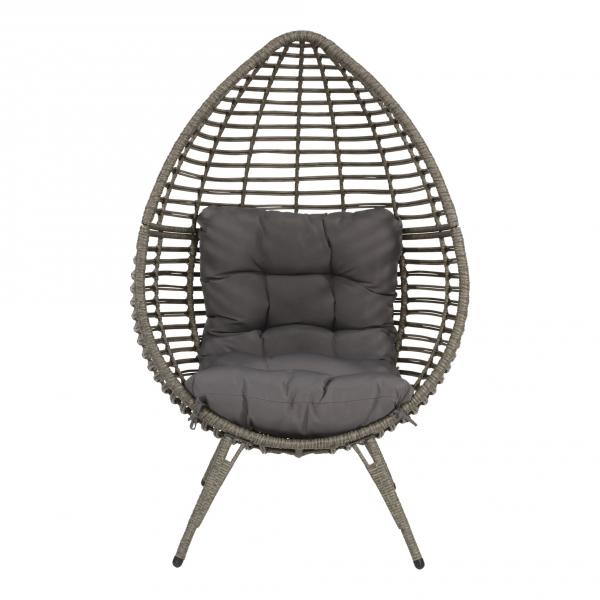 Lesli Living Relaxing-Stuhl Chill Gris grau
