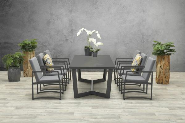 Garden Impressions Stuhl »Aureum« mit Tisch »Icarus«