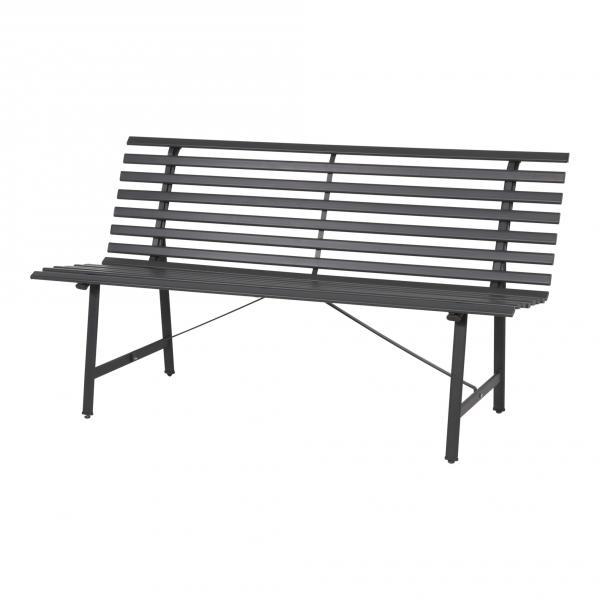 """Lesli Living """"banco del parque"""" gris y blanco"""