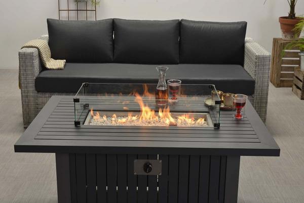 Cozy Living Albufeira carbon black/grey