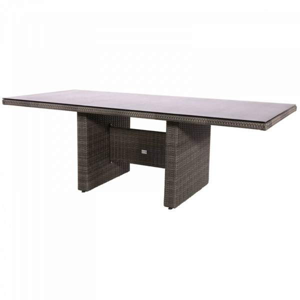 Lesli Living Dining-Tisch Soho Coal 6 Personen anthrazit