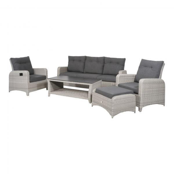 Lesli Living Loungeset »Soho Brick«Lesli Living Loungeset »Soho Brick«