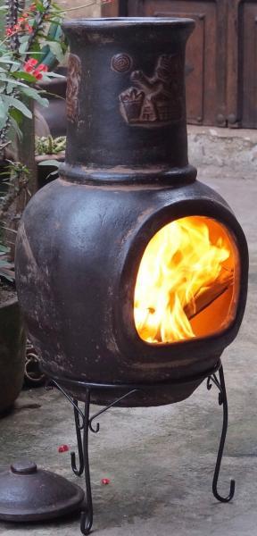 BBQ Grill Maya Chimenea