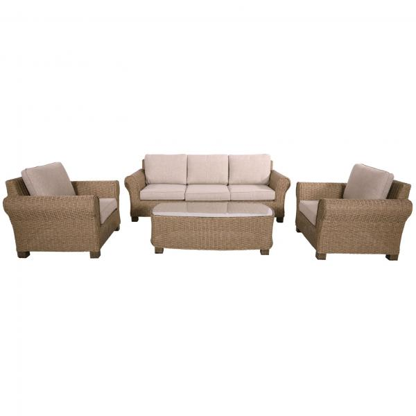 Lesli Living Loungeset »Excellent Straw«