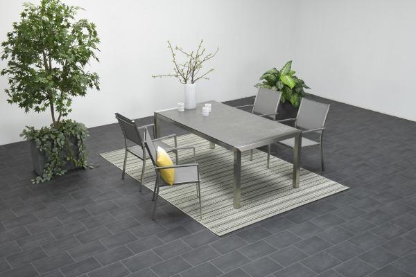 Garden Impressions Stuhl »Maggy« mit Tisch »Montreaux«
