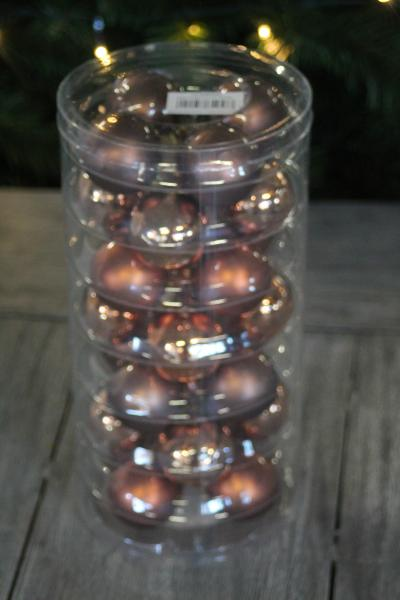 Christbaumkugeln Bestellen.Inge Glas Copper Brown Mix Christbaumkugeln