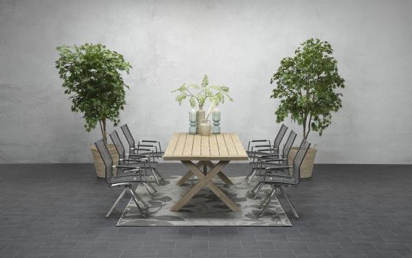 Garden Impressions Stuhl »Como« mit Tisch »La Plata«