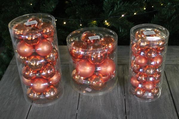 Christbaumkugeln Bestellen.Inge Glas Coral In Vogue Christbaumkugeln