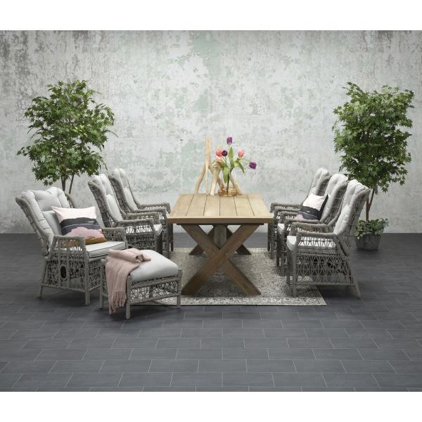 Garden Impressions Stuhl »Excellence« verstellbar mit Tisch »Colombia«