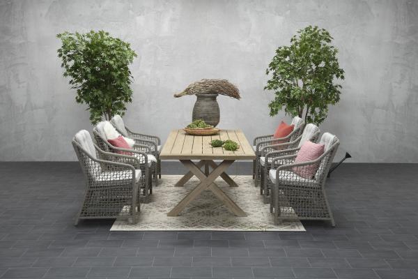 Garden Impressions Stuhl »Alexandria« mit Tisch »La Plata«