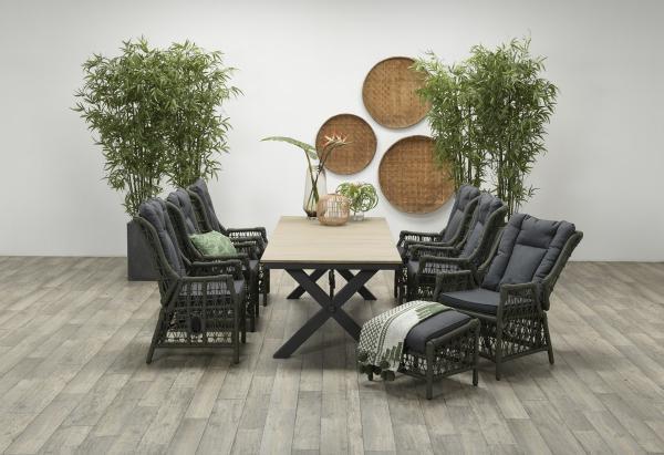 Garden Impressions Stuhl »Excellence« mit Tisch »Robusto«